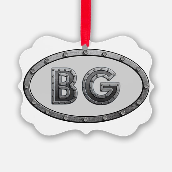 BG Metal Ornament