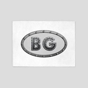 BG Metal 5'x7'Area Rug