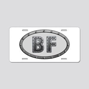BF Metal Aluminum License Plate