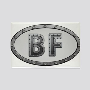 BF Metal Rectangle Magnet