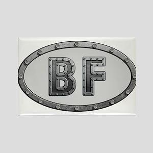 BF Metal Rectangle Magnet