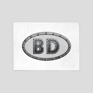 BD Metal 5'x7'Area Rug