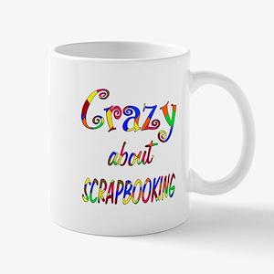 Crazy About Scrapbooking Mug