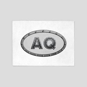 AQ Metal 5'x7'Area Rug