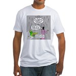 Parakeet vs Paraclete Fitted T-Shirt