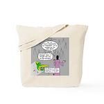 Parakeet vs Paraclete Tote Bag