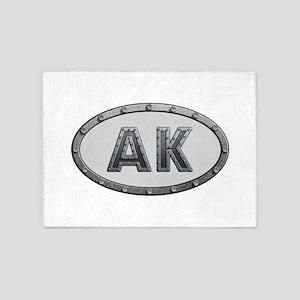 AK Metal 5'x7'Area Rug