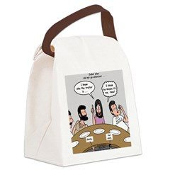 Judas the Traitor Canvas Lunch Bag