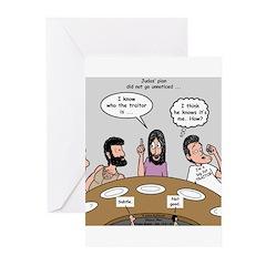 Judas the Traitor Greeting Cards (Pk of 20)