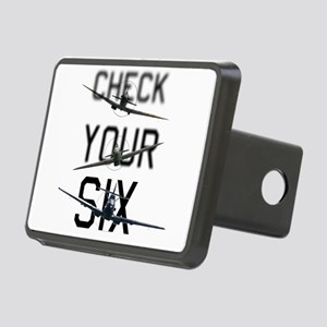 Check Your Six Rectangular Hitch Cover
