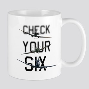 Check Your Six Mug
