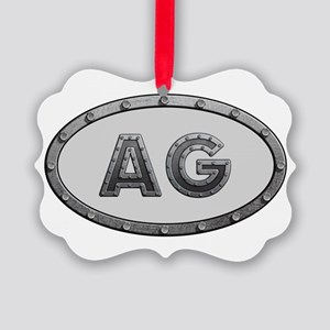 AG Metal Picture Ornament