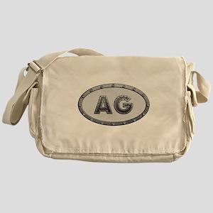 AG Metal Messenger Bag