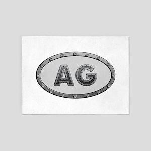 AG Metal 5'x7'Area Rug