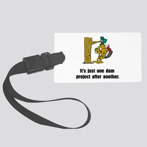 Beaver Dam Large Luggage Tag