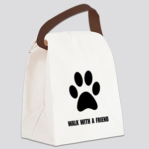 Walk Pet Canvas Lunch Bag