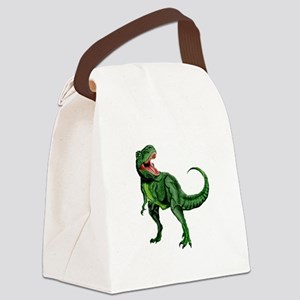 Tyrannosaurus Canvas Lunch Bag
