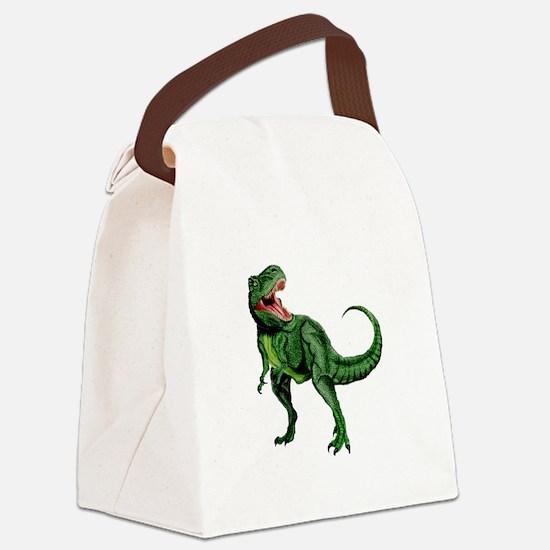 Tyrannosaurus Canvas Lunch Bag