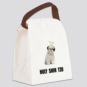 Holy Shih Tzu Canvas Lunch Bag