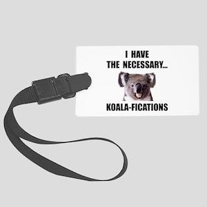 Koala Qualifications Large Luggage Tag