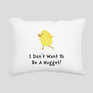 Chicken Nugget Rectangular Canvas Pillow
