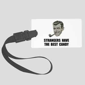 Strangers Best Candy Large Luggage Tag