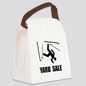Ski Yard Sale Canvas Lunch Bag