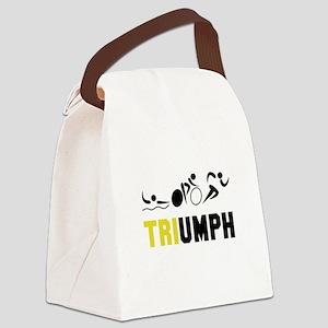 Tri Triumph Canvas Lunch Bag