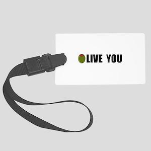 Olive You Large Luggage Tag