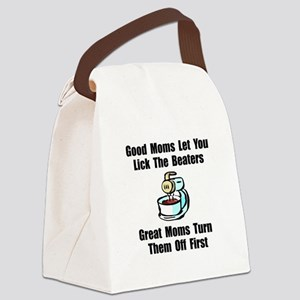 Mom Lick The Beaters Canvas Lunch Bag