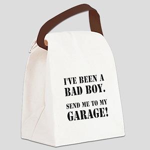 Bad Boy Garage Canvas Lunch Bag