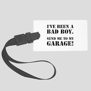 Bad Boy Garage Large Luggage Tag