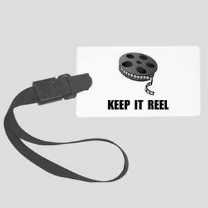 Keep Movie Reel Large Luggage Tag