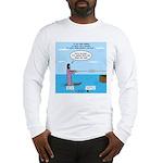 Jesus Waterskiing Long Sleeve T-Shirt