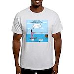 Jesus Waterskiing Light T-Shirt