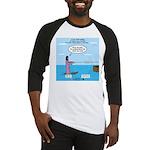 Jesus Waterskiing Baseball Jersey