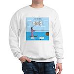 Jesus Waterskiing Sweatshirt