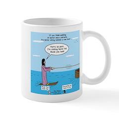 Jesus Waterskiing Mug