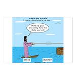 Jesus Waterskiing Postcards (Package of 8)