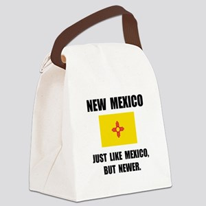 New Mexico Newer Canvas Lunch Bag