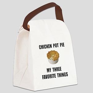 Chicken Pot Pie Canvas Lunch Bag