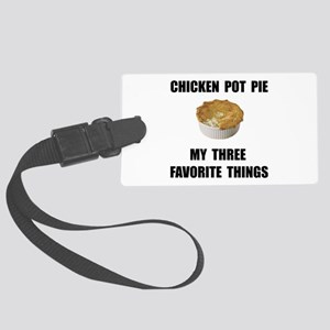 Chicken Pot Pie Large Luggage Tag