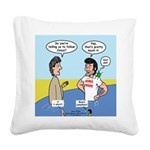 The First Jesus Freak Square Canvas Pillow