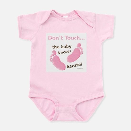 Karate Baby Green Infant Bodysuit