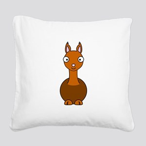 Llama ONLY Square Canvas Pillow