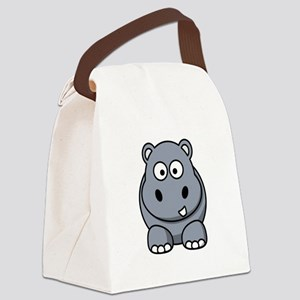 Hippo ONLY Canvas Lunch Bag