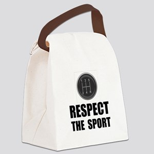 Driving Respect The Sport Black Canvas Lunch B