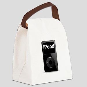 iPood Black SOT Canvas Lunch Bag