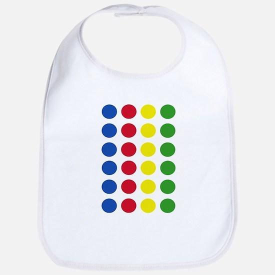 Twister Dots Bib