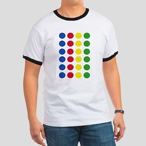 Twister Dots Ringer T